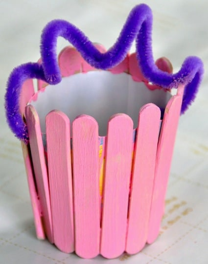 easter crafts for preschoolers diy easter basket