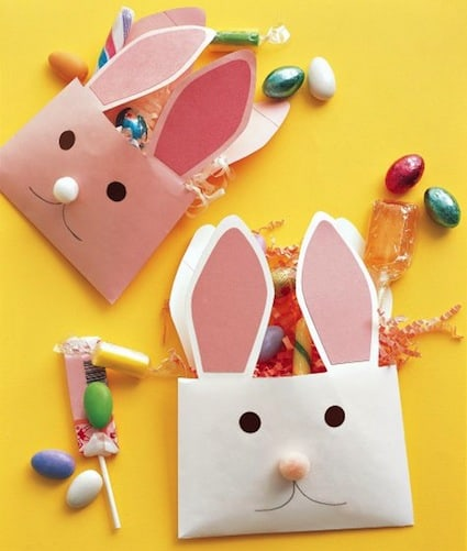 easter crafts for preschoolers envelope bunnies
