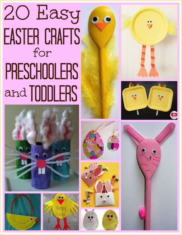 easter crafts for preschoolers