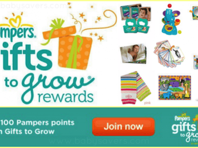 Free Pampers Gifts to Grow Codes: New Pampers Codes for 10 Free Points