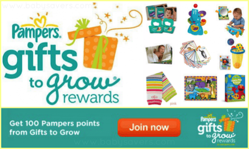 free pampers gifts to grow codes