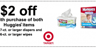 Lots of Huggies Printable Coupons + Target Diaper Deals