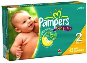HOT CVS Diaper Deals: Jumbo Packs of Pampers from $4.67!