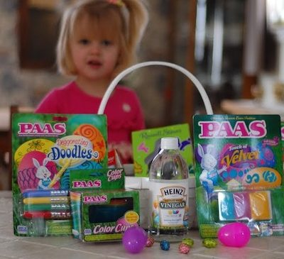 PAAS Easter Egg Dyeing Kits Review + Give $1 FREE to Make-A-Wish