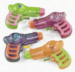 Save 54% on the Set of 12 Neon Grip Squirt Guns (Party Favors), Free Shipping Eligible!