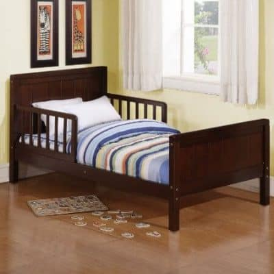Save 34 On The Dorel Asia Espresso Toddler Bed Free Shipping