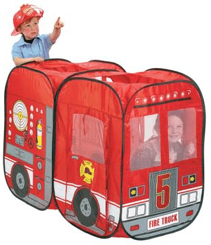 Save 37% on the Fire Engine Pop-Up Play Tent, Free Shipping Eligible!