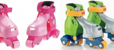Save up to 31% on the Fisher-Price Grow-With-Me 1,2,3 Inline Skates, Free Shipping Eligible!