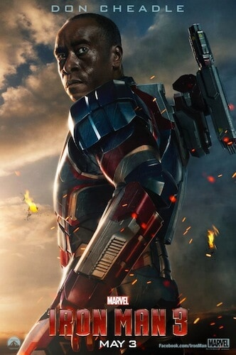 Iron Man 3 poster DonCheadle
