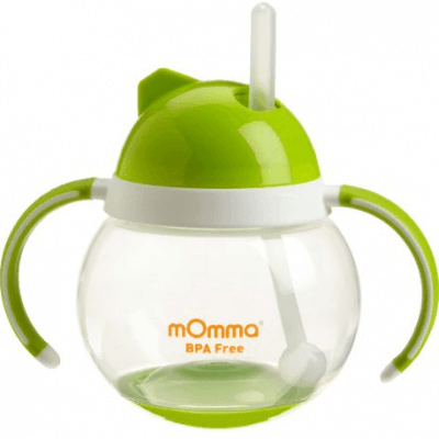 Save 37% on the Lansinoh mOmma Straw Cup with Dual Handles, Free Shipping Eligible!