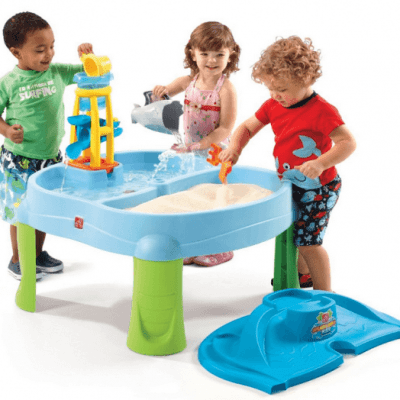 Save 32% on the Step2 Splash N Scoop Bay Water and Sand Table, Free Shipping!