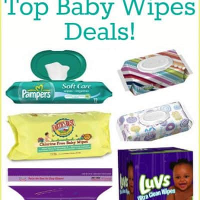 Amazon Baby Wipes Deals with Free Shipping (from $0.01 per Wipe!)