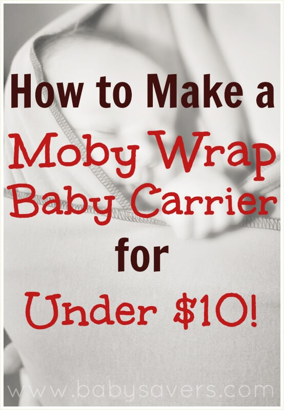 Diy Moby Wrap How To Make A Moby Wrap For Under 10