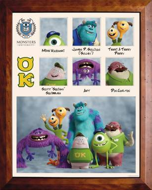 monsters university cast list