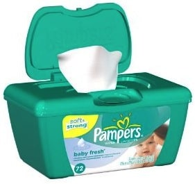 pampers baby fresh wipes deal
