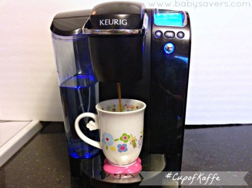 Brewing gevalia coffee in a keurig machine.