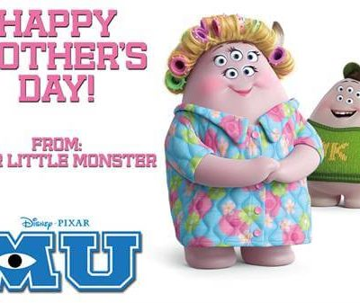 An Adorable Happy Mother's Day from Monsters University! #MonstersUniversity #MonstersU