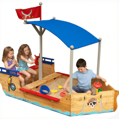 Save 35% on the KidKraft Pirate Sandboat plus Free Shipping!