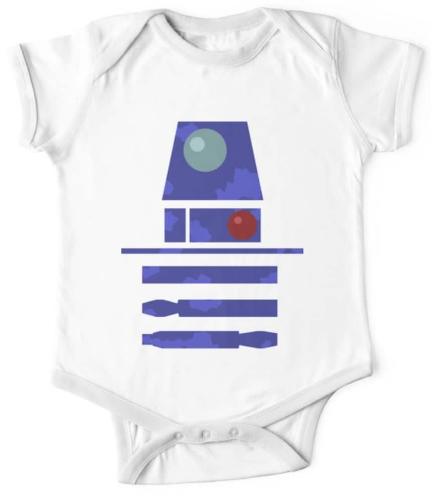 Star Wars onesie R2 D2