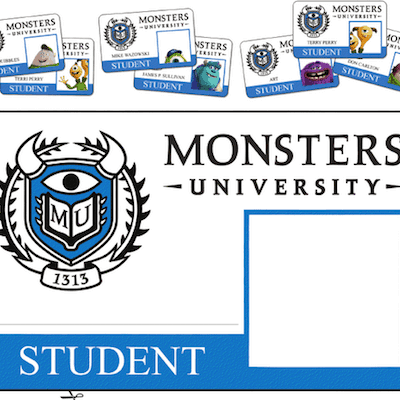 Monsters University: Free Printable Activity Sheets!