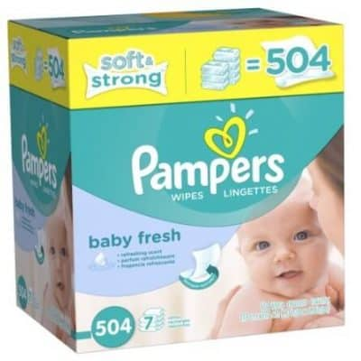 Pampers Soft Care Baby Wipes 504ct as low as $8.58 Shipped!