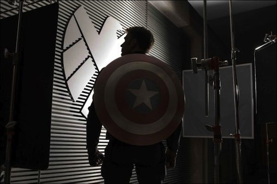 captain america sequel set photo