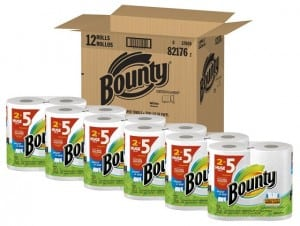 who has the cheapest bounty paper towels
