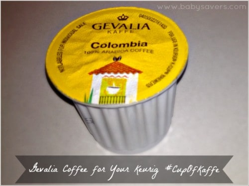 Gevalia single serve cups k-cup review