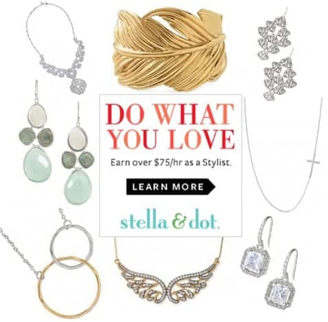 how much does a stella and dot stylist make