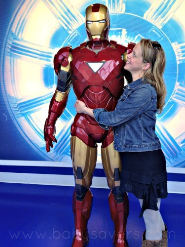 tony stark at madame tussauds wax museum hollywood