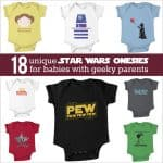 The Cutest Star Wars Onesie: 18 Adorable Shirts for the Geeky Baby