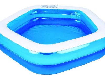 save 53 on the giant inflatable family and kids pentagon pool free shipping