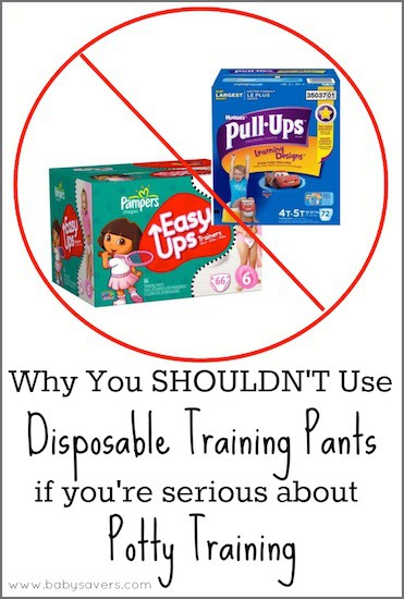 disposable potty training pants