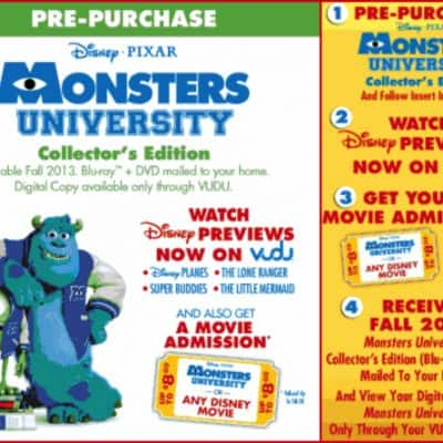 3 Great Reasons to Pre-Order Monsters University Now! #MUPreOrder #Cbias #spon