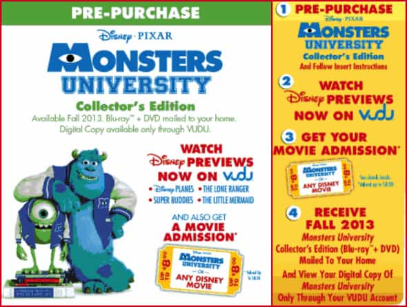 pre-order Monsters University
