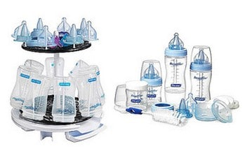 Save 15% on the The First Years Bottle Gift Set with Drying Rack, Free Shipping Eligible!