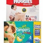 Target Deals: Pampers Giant Pack for $27.50 After Printable Coupons and Gift Card Deal