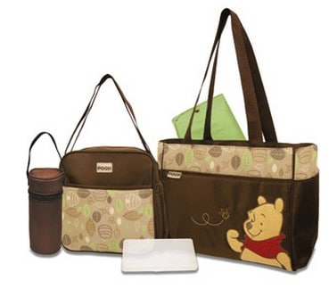 Disney Pooh Diaper Bag Set