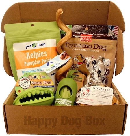 happy dog box example