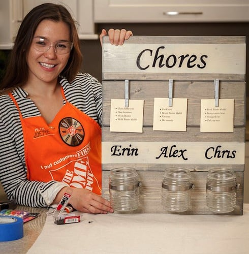 the home depot do it herself workshop