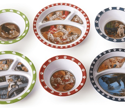 Kids Woot! Deals: Save 50% on the 6 Piece Animals Plate/Bowl Set