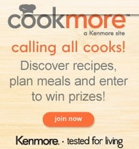 Sign up for Cookmore for FREE! New recipes, meal plans and more!