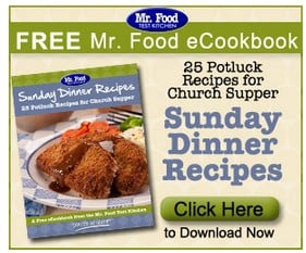 FREE eCookbook from Mr Food