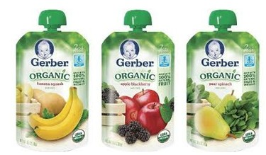 Target Deals: Gerber Organic Pouches for $0.90 After Printable Coupons