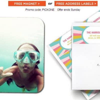 Shutterfly coupon codes free address labels