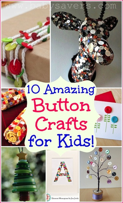 button craft ideas for kids button crafts for how to make 10 craft projects with 5976