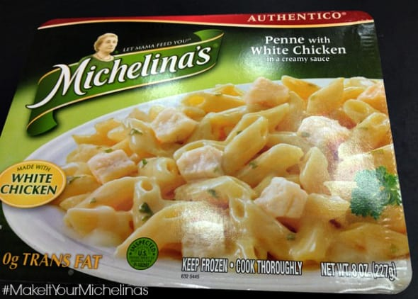 michelina's penne with white chicken review