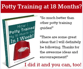 potty training at 18 months