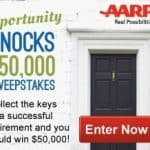 AARP Sweepstakes: Enter to Win $50,000