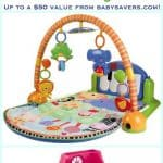 Fisher-Price Share The Joy Giveaway! Win a Little People Home or a Kick and Play Piano Gym #ShareTheJoyWmt